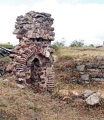 """Останки от манастира """"Св. 40 мъченици"""""""